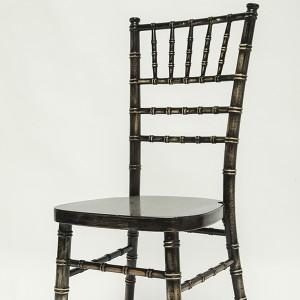 Uk style chiavari chair wash black