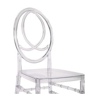Resin phoenix chair transparent