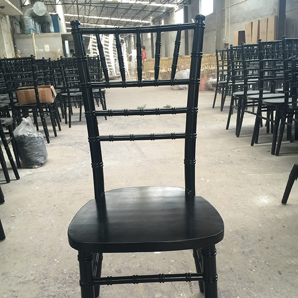 18 Years Factory Stacking Aluminum Wedding Chair -