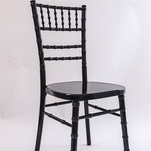 luxury Uk style chiavari chair black