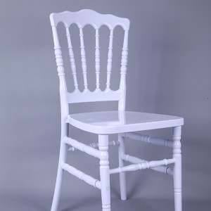 Resin Napoleon chair white