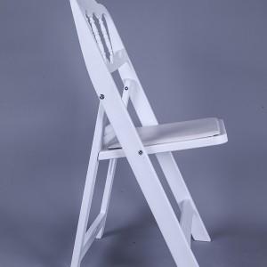 routine-Resin Napoleon chair white