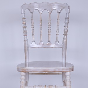 UK style napoleon chair Wash white