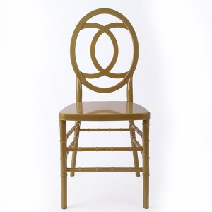 Resin kaviri hove chair Golden
