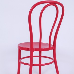 PP Resin thonet chairs Bean red