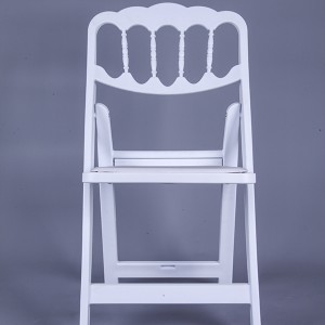 routine-Resin Napoleon chair white