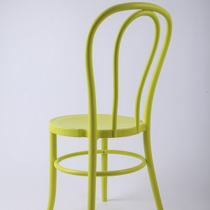 PP Resin thonet chairs Bean yellow