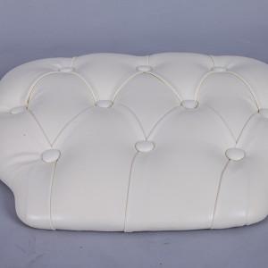 PU Hard cushions ivory color