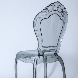 PC resin bella chairs without Smoke grey