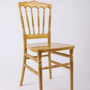 Resin Napoleon chair Golden