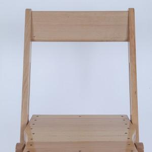 Wooden folding chairs mahogany etc