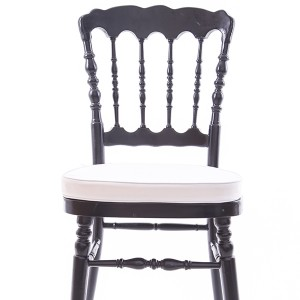 UK style napoleon chair black