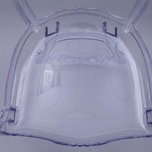 Resin bella Princess chair transparent