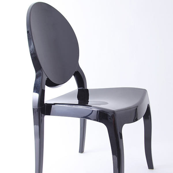Resin sofia chairs 36-9007L black Featured Image