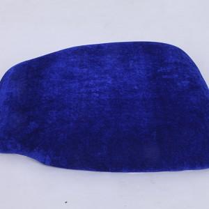 velvet Hard cushions Sapphire blue