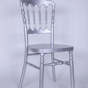 UK style napolan chair Golden silvery
