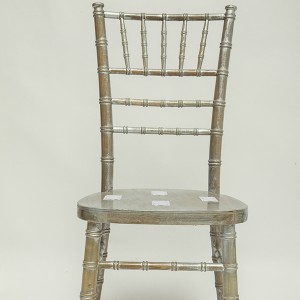 Uk style chiavari chair wash wash silvery