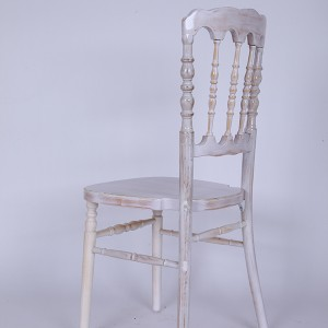 UK style napoleon chair Wash white