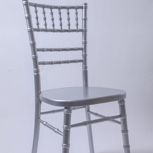 luxury Uk style chiavari chair silvery