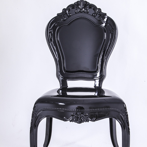 PC resin bella chairs without arms black Featured Image
