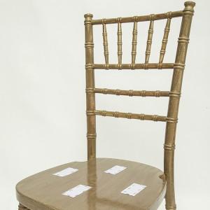Uk style chiavari chair wash Golden