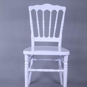 Resin Napoleon chair white