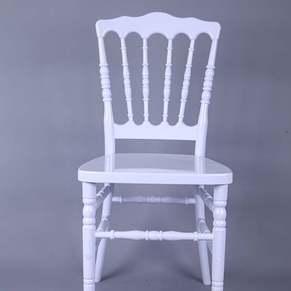 Resin Napoleon chair white Featured Image
