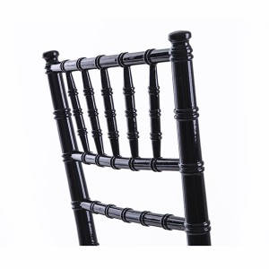 USA style chiavari chair black