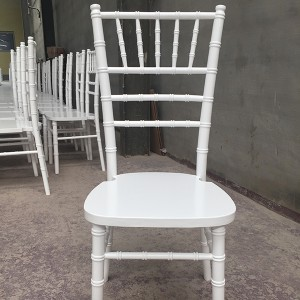 Uk style chiavari chair white