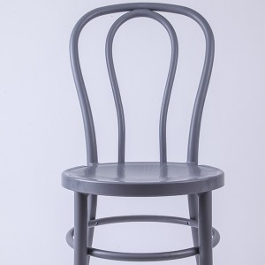 PP Resin thonet chairs Bean gray