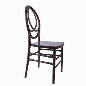 Resin phoenix chair Dark grey