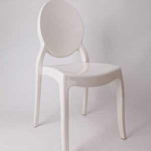 Resin sofia chairs 36-9007L Rice white