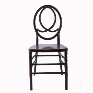 Resin phoenix chair Dark grey