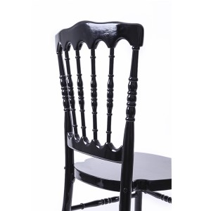 antique napoleon chair black