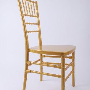 Resin Chiavari chair Golden