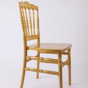 Resin Napoleon chair Golden