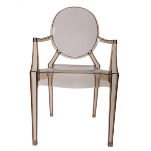OEM/ODM Supplier Commercial Restaurant Aluminum Timber Look Stacking Cafe Dining Chair For Sale