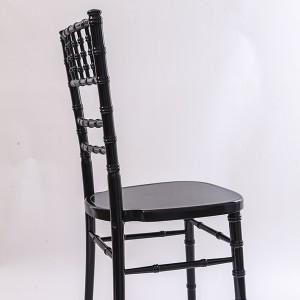 luxury Uk style chiavari chair black