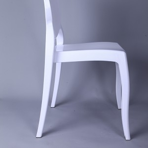 Resin sofia chairs 36-9007L white