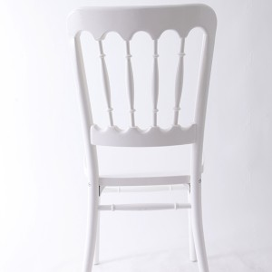 UK style castle chair white