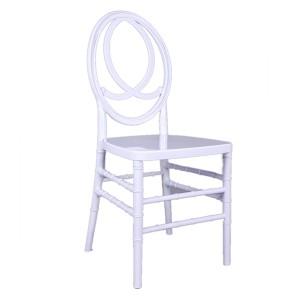 Resin phoenix chair white