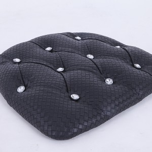 PU Hard cushions black