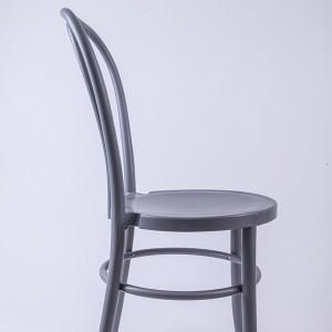 PP Resin thonet chairs Bean gray