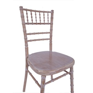 luxury Uk style chiavari chair Wash white