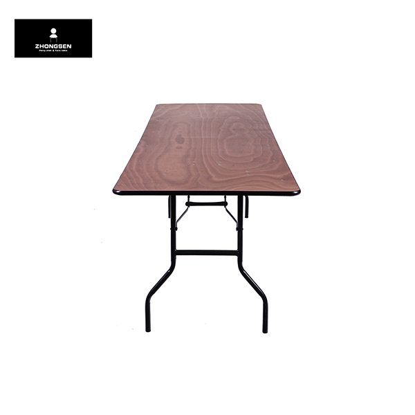 100% Original Round Folding Tables For Restaurant -