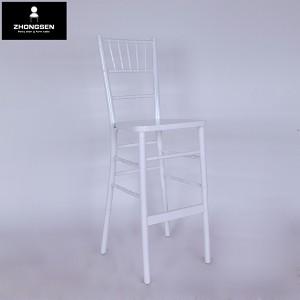 Wooden chiavari barstool chairs white