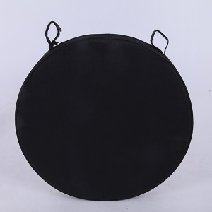 Double soft cushion black