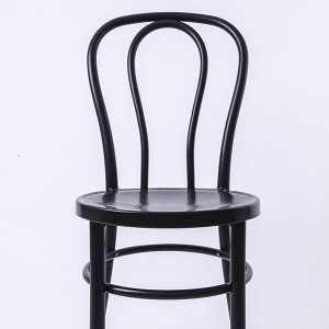 PP Resin thonet chairs black