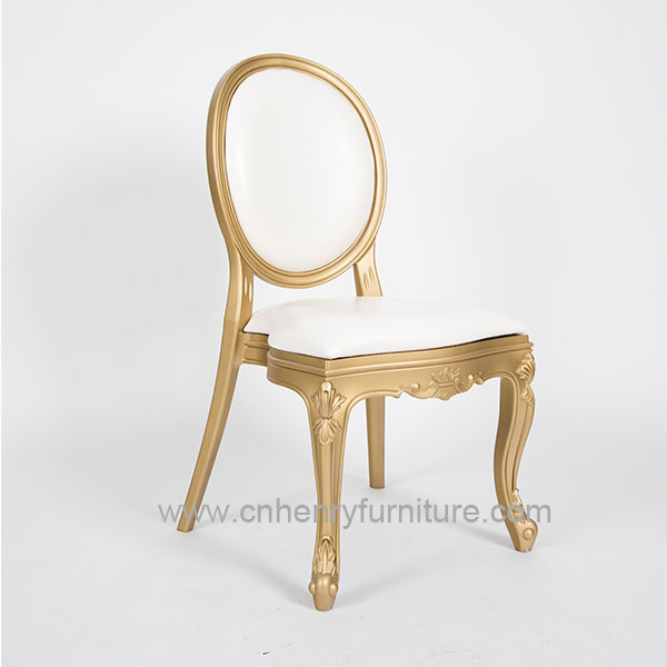 Fast delivery Aluminum Bar Chair For Sale - Plastic Louis Chair – HENRY FURNITURE