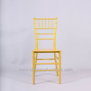 Resin Nonoblock Chiavari Chair